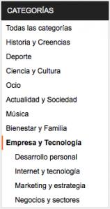 Categories Ivoox